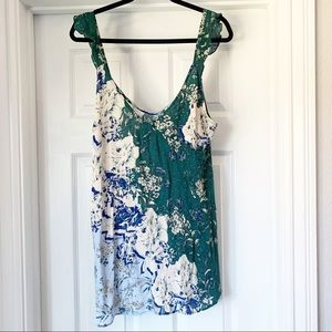 NWT Intimately Free People Floral Slip Dress